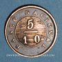 Coins Argentine. Buenos Aires. 5/10 real 1827