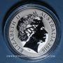 Coins Australie. 1 dollar 2016. Kangourou - Changement des saisons. (1 once). 999 /1000