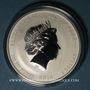 Coins Australie. Elisabeth II (1952- ). 1 dollar 2016 Année du Singe. (1 once. 999 /1000)