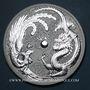 Coins Australie. Elisabeth II (1952- /). 1 dollar 2017 Dragon et Phénix