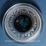 Coins Australie. Elisabeth II (1952- /). 1 dollar 2017. Série Opale Australienne - Année du Coq