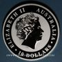 Coins Australie. Elisabeth II (1952- ). 10 dollars 2016 Koala. (10 onces. 999 /1000)