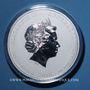 Coins Australie. Elisabeth II (1952- ). 30 dollars 2010. Poids : 1 kg d'argent fin ! 5 000 ex !