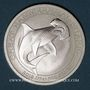 Coins Australie. Elisabeth II (1952- ). 50 cents 2015 Grand requin marteau (1/2 once. 999 /1000)