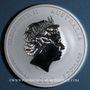 Coins Australie. Elisabeth II (1952- ). 8 dollars 2017 Anné du Coq. (5 onces. 999 /1000)