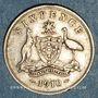 Coins Australie. Georges V (1910-1936). 6 pences 1910