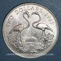 Coins Bahamas. 2 dollars 1969
