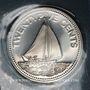 Coins Bahamas. 25 cents 1974
