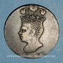 Coins Barbade. Georges III (1760-1820). 1 penny token 1788