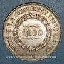 Coins Brésil. Pierre II (1831-1889). 1000 reis 1860