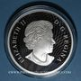Coins Canada. 50 dollars 2016. Royaumes mythiques des Haïdas - L' Aigle. 999,9/1000. 157,60 g