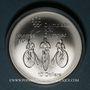 Coins Canada. Elisabeth II (1952- /). 10 dollars 1974. J.O. Montréal. Cycles