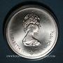 Coins Canada. Elisabeth II (1952- /). 10 dollars 1974. J.O. Montréal. Temple de Zeus