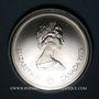 Coins Canada. Elisabeth II (1952- /). 10 dollars 1975. J.O. Montréal. Lancer de poids féminin