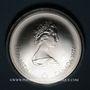 Coins Canada. Elisabeth II (1952- /). 10 dollars 1976. J.O. Montréal. Le Vélodrome