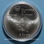 Coins Canada. Elisabeth II (1952- /). 5 dollars 1975. J.O. Montréal. Javelot féminin
