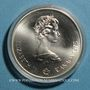 Coins Canada. Elisabeth II (1952- /). 5 dollars 1975. J.O. Montréal. Plongeon
