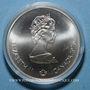 Coins Canada. Elisabeth II (1952- /). 5 dollars 1976. J.O. Montréal. Boxe