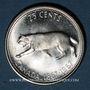 Coins Canada. Elisabeth II. 25 cents 1967