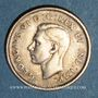 Coins Canada. Georges VI (1936-1952). 10 cents 1947