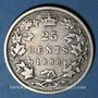 Coins Canada. Victoria (1837-1901). 25 cents 1888