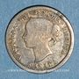 Coins Canada. Victoria (1837-1901). 5 cents 1858