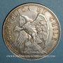 Coins Chili. République. 1 peso 1895
