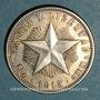 Coins Cuba. République. 20 centavos 1915