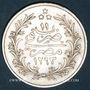 Coins Egypte. Abdoul Hamid II (1293-1327H = 1876-1909). 10 qirsh 1293H, an 11