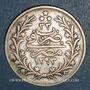 Coins Egypte. Abdoul Hamid II (1293-1327H = 1876-1909). 10 qirsh 1293H, an 33