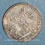 Coins Egypte. Mehmet V (1327-1332H = 1909-1914). 1 qirsh 1327H, an 2. Birmingham