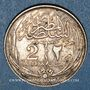 Coins Egypte. Occupation anglaise - Hussein Kamil (1333-1336H = 1914-1917). 2 piastres 1335H (= 1917)