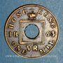 Coins Hong Kong. Victoria (1837-1901). 1 mil 1863