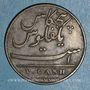Coins Indes anglaises. Présidence de Madras. 5 cash 1803