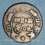 Coins Indes anglaises. Présidence de Madras. Double fanam, n.d. (1808)