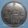 Coins Indes Néerlandaises. Ile de Sumatra. Marchands de Singapour. Keping token 1219H / 1804