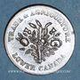 Coins Lower Canada  (Bas-Canada = Québec). Banque du Peuple. 1 sou (1835)