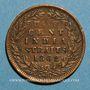 Coins Malaisie. Etablissements des détroits (Straits Settlements). Victoria (1837-1901). 1/2 cent 1862