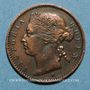 Coins Malaisie. Etablissements des détroits (Straits Settlements). Victoria (1837-1901). 1/4 cent 1872