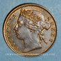 Coins Malaisie. Etablissements des détroits (Straits Settlements). Victoria (1837-1901). 1/4 cent 1884