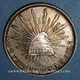 Coins Mexique. 2e République. 1 peso 1899 M°. Mexico