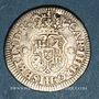 Coins Mexique. Charles III (1759-1788). 1/2 real 1770M