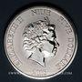 Coins Niue. Elisabeth II (1952- ). 5 dollars 2015 Tortue à écailles
