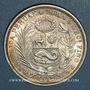 Coins Pérou. République. 1/2 sol 1917 F.G.