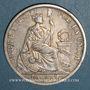 Coins Pérou. République. 1 sol 1880 Y.J.