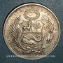 Coins Pérou. République. 1 sol 1914 F.G.