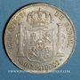 Coins Philippines. Alphonse XII (1874-1885).  50 centavos 1885. Manille