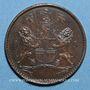 Coins Sainte Hélène & Ascension. 1/2 penny 1821