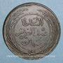 Coins Tunisie. Abdoul Aziz avec Mohammed el-Sadok (1277-1293H = 1861-1876). 8 kharoubs 1281H