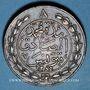 Coins Tunisie. Abdoul Aziz avec Mohammed el-Sadok (1277-1293H = 1861-1876). 8 kharub 1281H